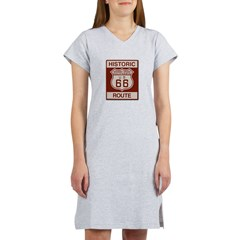 Newberry Springs Route 66 Women's Nightshirt
