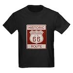 Newberry Springs Route 66 Kids Dark T-Shirt