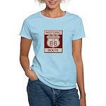 Newberry Springs Route 66 Women's Light T-Shirt