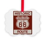 Newberry Springs Route 66 Picture Ornament