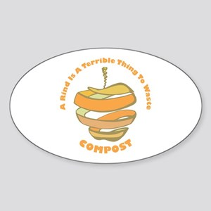 Rind Oval Sticker