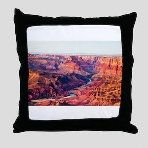 Grand Canyon Landscape Photo Throw Pillow