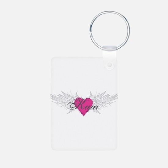 My Sweet Angel Kaia Aluminum Photo Keychain