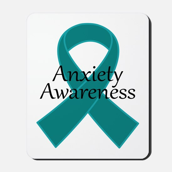 Anxiety Awareness Ribbon Mousepad
