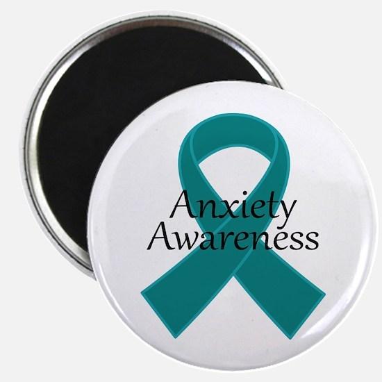 Anxiety Awareness Ribbon Magnet
