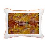 Native American Adobe Rectangular Canvas Pillow