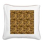 Native American Adobe Square Canvas Pillow