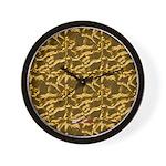 Native American Adobe Wall Clock