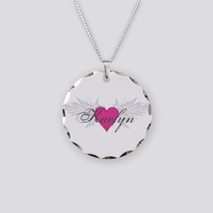 My Sweet Angel Kaelyn Necklace Circle Charm