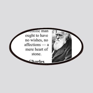 Alas A Scientific Man - Charles Darwin Patch