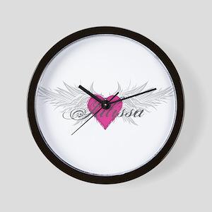 My Sweet Angel Julissa Wall Clock