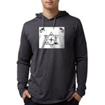3-zsymbol Mens Hooded Shirt