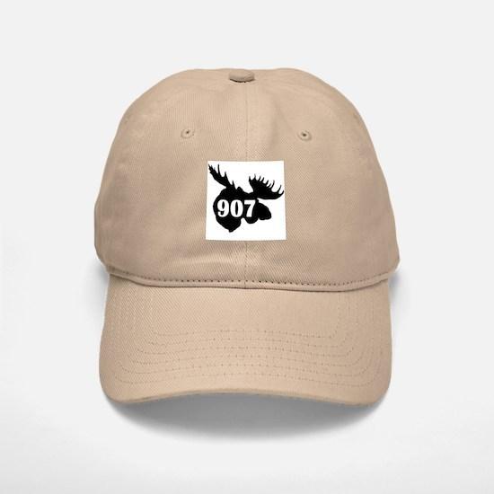 907 Moose Head Baseball Baseball Cap