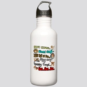 Soft Corgi Stainless Water Bottle 1.0L