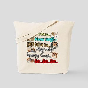 Soft Corgi Tote Bag