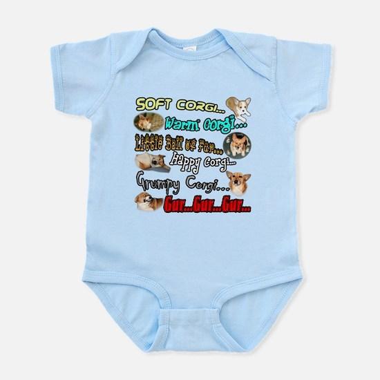 Soft Corgi Infant Bodysuit