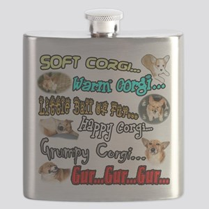 Soft Corgi Flask