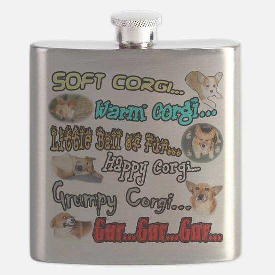 Soft Corgi Flask