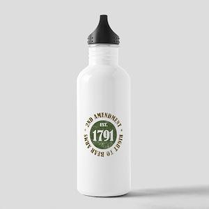 2nd Amendment Est. 1791 Stainless Water Bottle 1.0