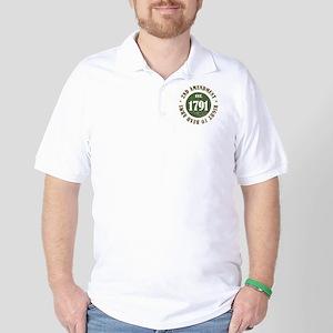 2nd Amendment Est. 1791 Golf Shirt