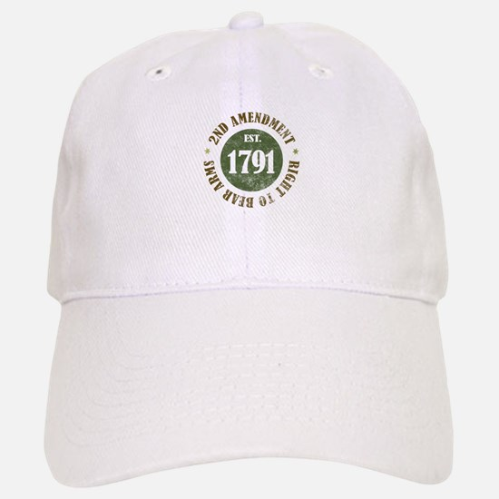 2nd Amendment Est. 1791 Baseball Baseball Cap