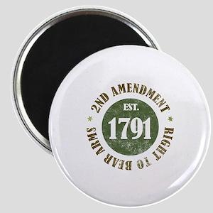 2nd Amendment Est. 1791 Magnet