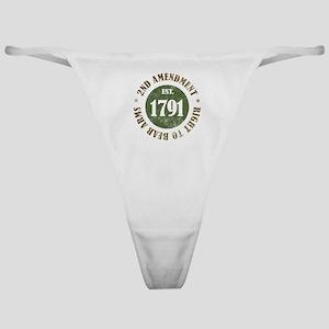 2nd Amendment Est. 1791 Classic Thong