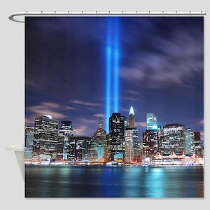 Manhattan New York Shower Curtain