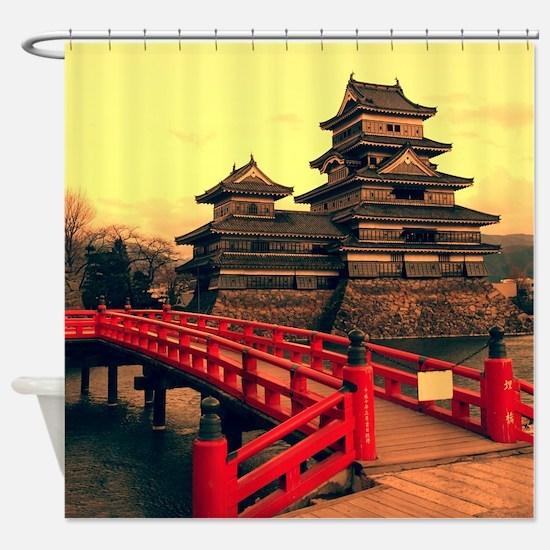 Pagoda Shower Curtain