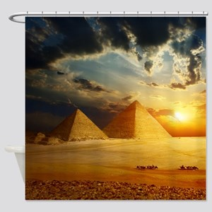 Great Pyramids Shower Curtain