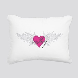 My Sweet Angel Joy Rectangular Canvas Pillow