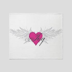 My Sweet Angel Joy Throw Blanket