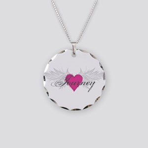 My Sweet Angel Journey Necklace Circle Charm