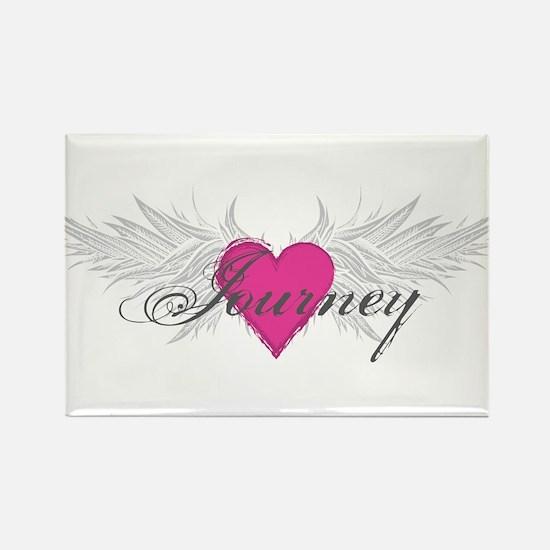 My Sweet Angel Journey Rectangle Magnet