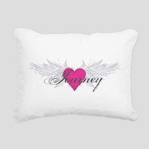 My Sweet Angel Journey Rectangular Canvas Pillow