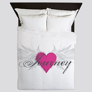 My Sweet Angel Journey Queen Duvet