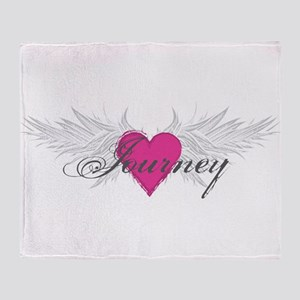 My Sweet Angel Journey Throw Blanket
