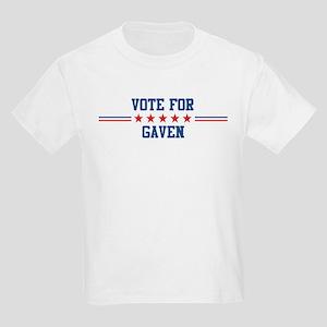 Vote for GAVEN Kids T-Shirt