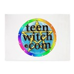 TeenWitch.com 5'x7'Area Rug
