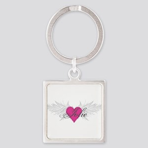 My Sweet Angel Jolie Square Keychain