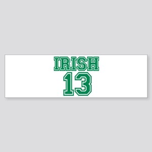 St. Patricks day Irish 2013 Sticker (Bumper)