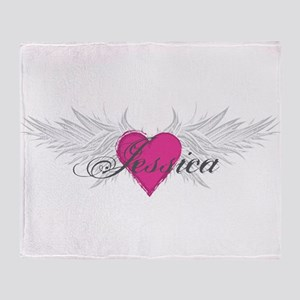 My Sweet Angel Jessica Throw Blanket