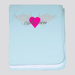 My Sweet Angel Jessica baby blanket