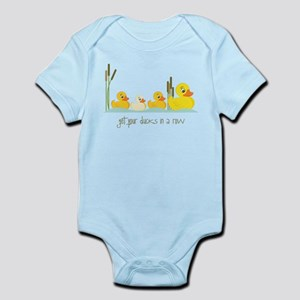 In A Row Infant Bodysuit