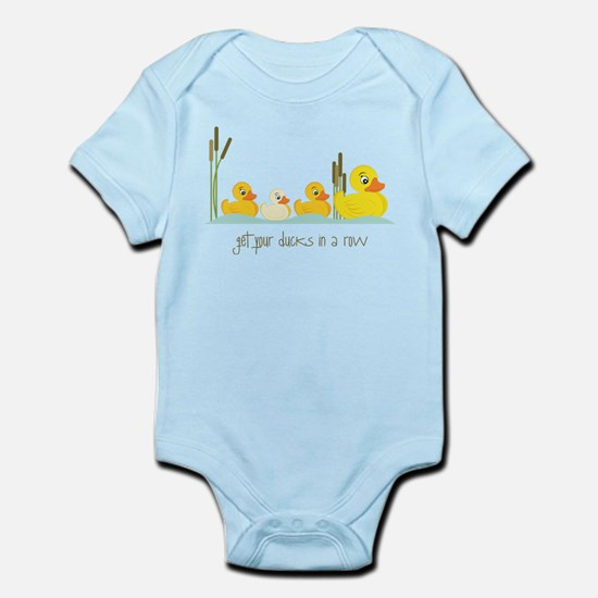 In A Row Infant Bodysuit