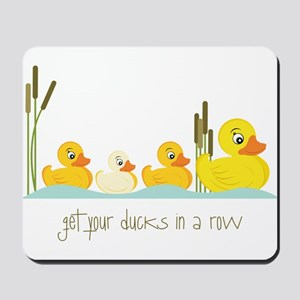 In A Row Mousepad