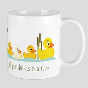 In A Row Mug