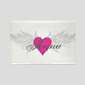 My Sweet Angel Jenna Rectangle Magnet