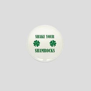 Shake your shamrocks Mini Button