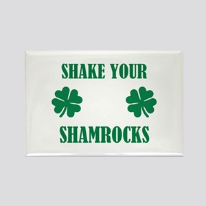 Shake your shamrocks Rectangle Magnet